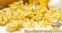 Фото к рецепту: Домашняя паста (макароны, лапша)