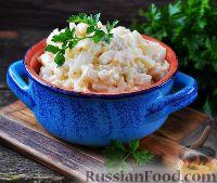 Фото к рецепту: Салат с кальмарами и яйцами