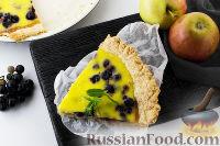 Фото к рецепту: Виноградный пирог из творожного теста