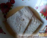 Фото приготовления рецепта: Быстрые пирожки из лаваша с мясом - шаг №8