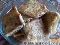 Фото приготовления рецепта: Быстрые пирожки из лаваша с мясом - шаг №11