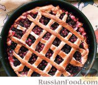 Фото к рецепту: Пирог с ягодами
