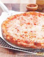 Фото к рецепту: Пицца на тонком корже