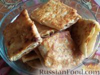 Фото к рецепту: Быстрые пирожки из лаваша с мясом