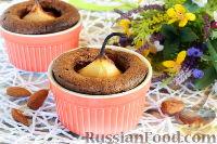 Фото к рецепту: Шоколадные кексы с грушами