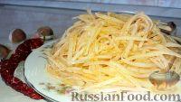 Фото к рецепту: Салат из картофеля, по-корейски