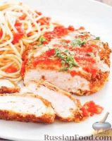 Фото к рецепту: Куриное филе с сыром