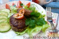 Фото к рецепту: Котлетки из чечевицы