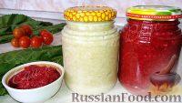 Фото к рецепту: Хрен на зиму (без варки, помидоров и чеснока)