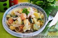 Фото к рецепту: Салат с курицей и ананасом