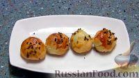 Фото к рецепту: Пирожки с зеленым луком и яйцами