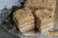 Фото к рецепту: Торт из гречневой муки