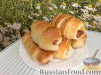 Фото к рецепту: Сосиски в тесте