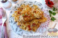 Фото к рецепту: Курица с макаронами, по-гречески