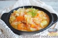 Фото к рецепту: Картофельный суп с квашеной капустой