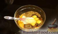 Фото приготовления рецепта: Имбирный хлебный пудинг с тыквой - шаг №3