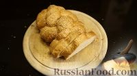 Фото приготовления рецепта: Имбирный хлебный пудинг с тыквой - шаг №4