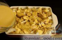 Фото приготовления рецепта: Имбирный хлебный пудинг с тыквой - шаг №7