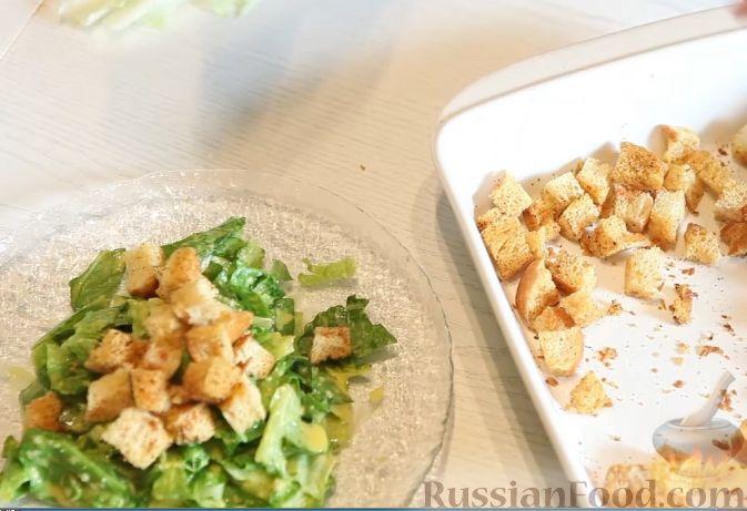 Фото приготовления рецепта: Салат «Весенний» с курицей и овощами - шаг №5