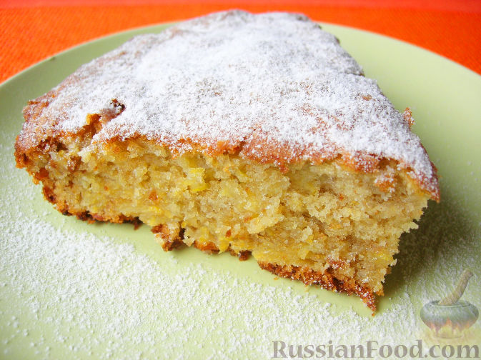 Фото приготовления рецепта: Очень простой пирог с айвой - шаг №7