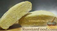 Фото к рецепту: Полуслоёное тесто на сметане