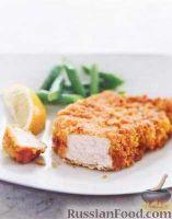 Фото к рецепту: Свинина в кукурузной панировке