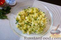 Фото приготовления рецепта: Голубцы из пекинской капусты, с картофелем и беконом - шаг №5