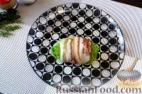 Фото приготовления рецепта: Голубцы из пекинской капусты, с картофелем и беконом - шаг №8