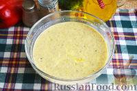 Фото приготовления рецепта: Запеканка с овощами, колбасой и гречневыми хлопьями - шаг №4