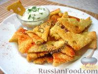 Фото к рецепту: Сырные чипсы по-домашнему