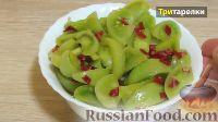 Фото к рецепту: Салат из зеленых помидоров