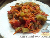 Фото к рецепту: Сотэ из баклажан