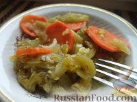 Фото к рецепту: Зеленые помидоры с чесноком