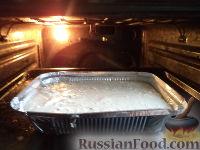 Фото приготовления рецепта: Творожная запеканка с манкой и изюмом - шаг №5