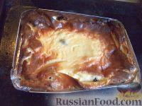 Фото приготовления рецепта: Творожная запеканка с манкой и изюмом - шаг №6