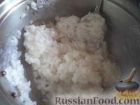 Фото приготовления рецепта: Тефтели с рисом и овощным соусом - шаг №1