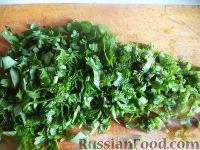 Фото приготовления рецепта: Маринованные зеленые помидоры с перцем и чесноком - шаг №11