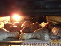 Фото приготовления рецепта: Куриные ножки в сметане, запеченные в духовке - шаг №4
