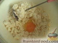 Фото приготовления рецепта: Сырники с адыгейским сыром - шаг №2