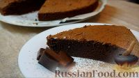 Фото к рецепту: Брауни (шоколадный пирог)