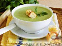 Фото к рецепту: Крем-суп из брокколи и шпината