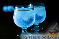 Фото к рецепту: Светящийся коктейль