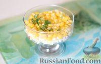 Фото к рецепту: Салат с крабовыми палочками