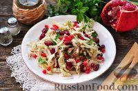 Фото к рецепту: Салат с тунцом и фасолью