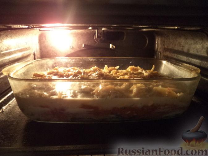 Фото приготовления рецепта: Маффины с черноплодной рябиной - шаг №4