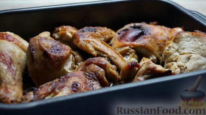 курица запеченная в духовке в соевом соусе