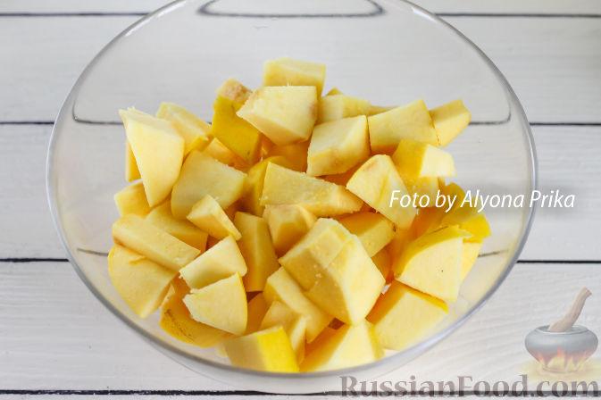 Фото приготовления рецепта: Конфитюр из айвы - шаг №2