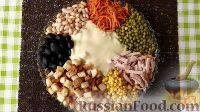 Фото к рецепту: Салат «Поляна» или «Козёл в огороде»