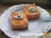 Фото к рецепту: Морковная запеканка
