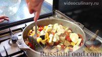 Фото приготовления рецепта: Рататулли (овощное рагу по-провансальски) - шаг №9